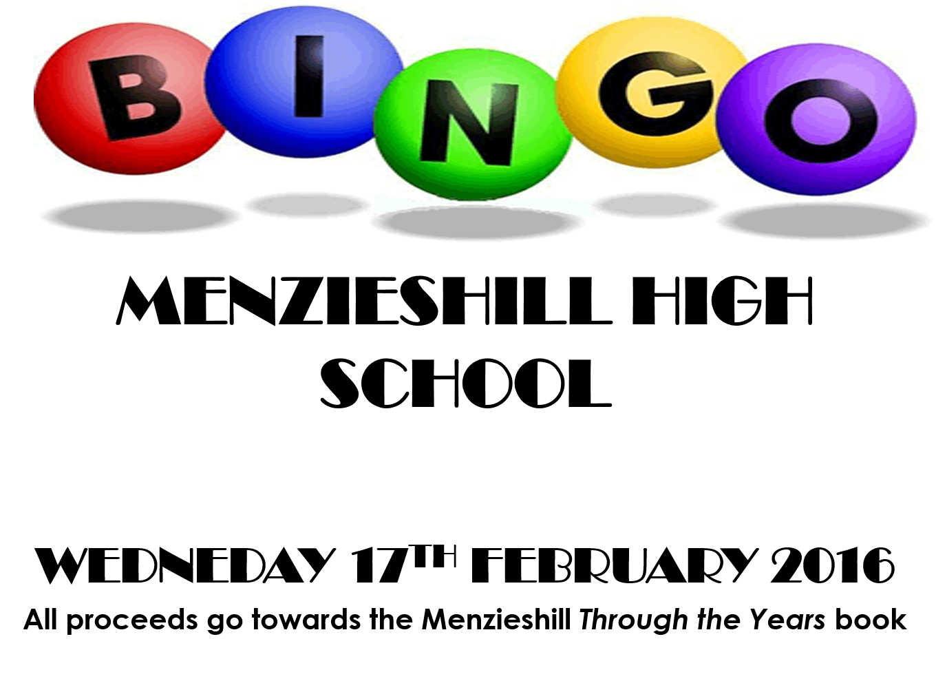 Bingo Evening - Wednesday 17 February 2016