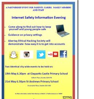 Internet Safety events for parents