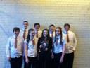Menzieshill water polo success!