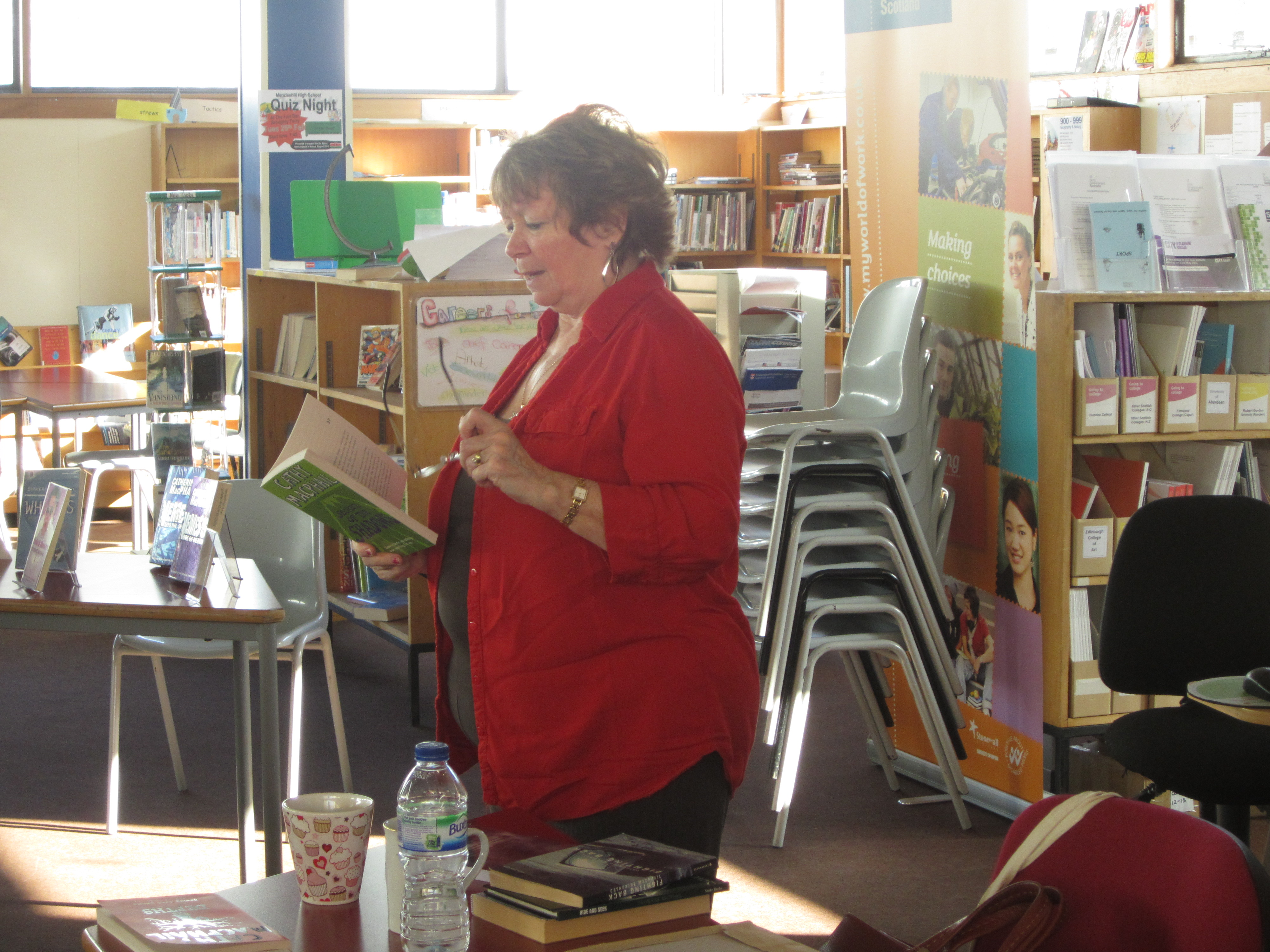 Cathy MacPhail visits S3