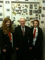 Jim McGovern MP Visits Menzieshill HS