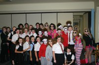 Menzieshill rocks in the Rock Challenge