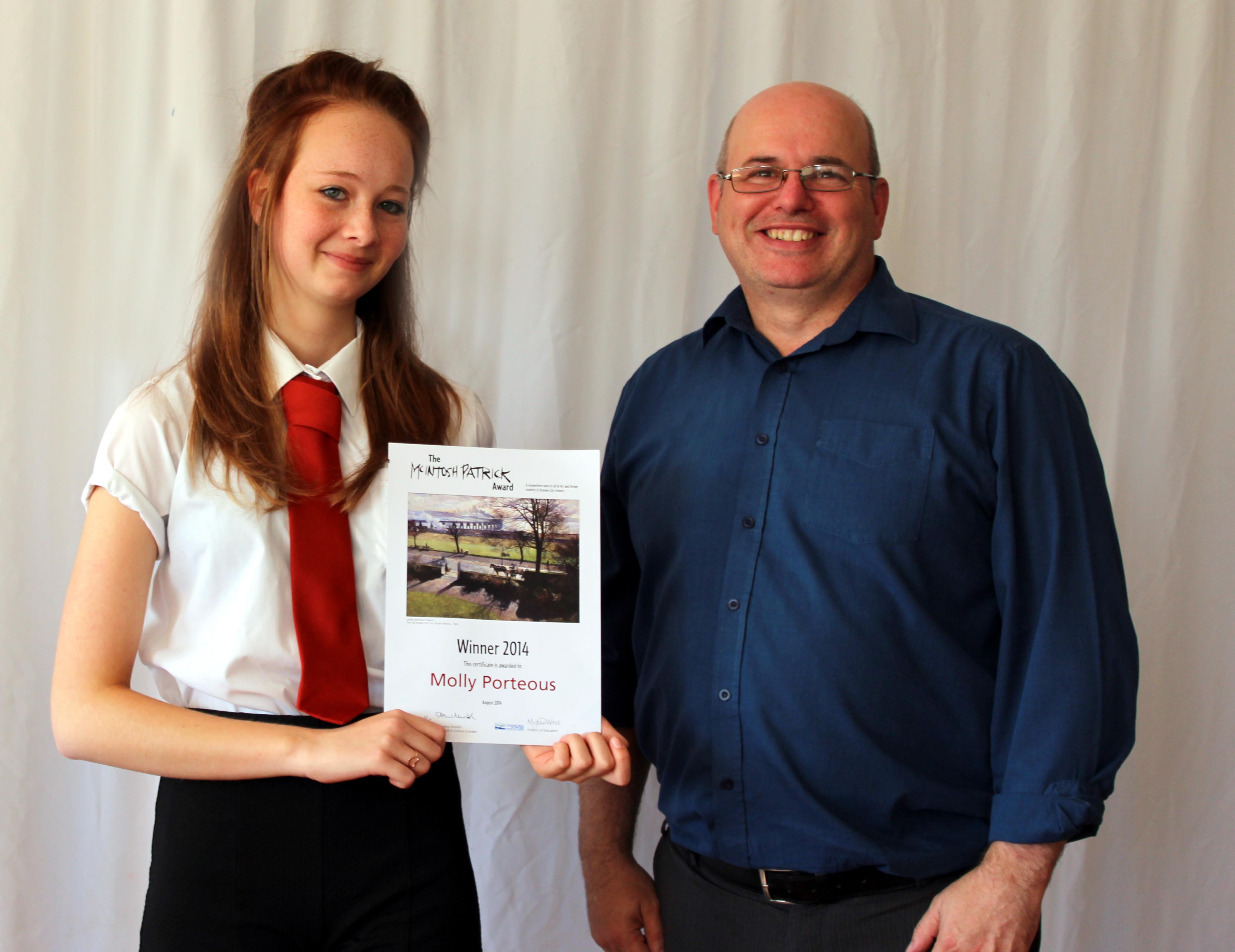 Molly wins McIntosh Patrick Award